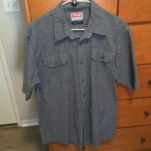 Short Sleeve Button-Up